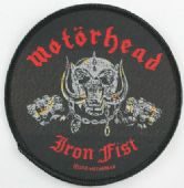 Motorhead - 'Iron Fist Warpig' Woven Patch